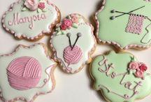 Lukrowe Atelier / royal icing cookies