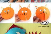игрушки из бумаги детям