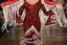 vestidos de  faralaes / by Isabel Lopez