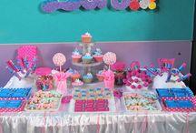 Candy Bar Frozen / Candy Bar de la temática que elijas realizados por www.orygami.com.ar