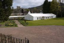 Harmony House / One of our many beautiful venues right here in the Scottish Borders. Best Intent Marquees have fantastic knowledge of most venues and locations make us your local marquee hire company.