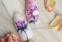 Virágos minta