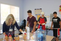 We got the juice! / In honor of National Nutrition Month our teens decided to create a custom juice for fellow clients and staff.
