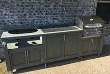 Outdoor Kitchens... mobile, movable, portable