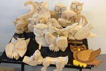 Oggetti in legno / Piccoli animali