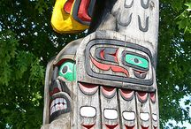Totem Poles / A collection of totem poles from various indigenous cultures. / by Jim Krotzman