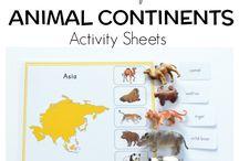 Dyr, Animales
