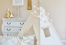 Polka dots children room