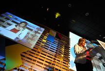 Día de la Persona emprendedora en Andalucía. Diciembre 2013 / Escenografía de palets.
