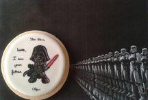 Galletas de glasa. Icing sugar cookies / Mi evolución en la decoración de galletas