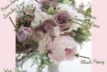 Bryllup: farger og blomster