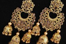Wedding Party Women Jhumka Earrings