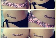 Tattoos / by Brittany Garoufalis
