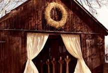 Dreams of a Country Wedding / Hey a gal can dream right?!  These are just ideas I love for a country wedding.  I've always wanted a simple, southern, & country wedding (in a barn or outdoors).  I'm pinning anything I find beautiful or that reminds me of what I'd like. This board includes everything from decor, dresses, rings, flowers, venues, etc.