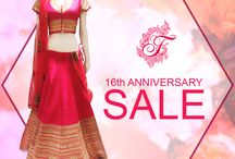 16th Anniversary Sale / We bring you amazing discounts on the occasion of 16th anniversary.