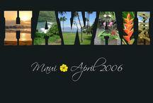 Hawaii scrapbook