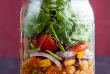 Lunch / Healthy lunches in jars...