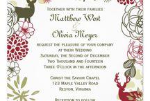 Christmas Wedding {JOY}