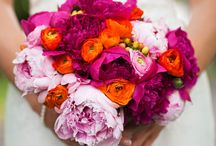 Weddings-orange/peach and magenta/purple