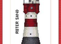 Roter Sand  Leuchtturm