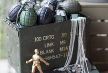 Army Themed Party / Cool ideas for an army themed birthday party or celebration.