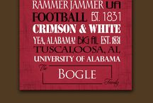 University of Alabama crafts