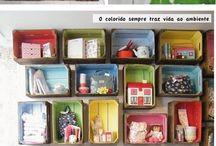 caixotes de feira