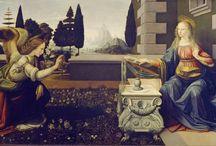 Artist - Leonardo da Vinci / Leonardo was born on April 15, 1452, in the Tuscan hill town of Vinci.