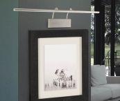 Apliques para Cuadros / Ideas y propuestar para decorar e iluminar los cuadros con originales apliques de pared para cuadros y espejos