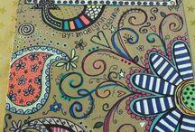 doodles and mandalas
