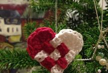 Christmas - crochet and knitting