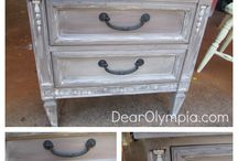 painted furniture / by Cindy McGonigal-Graham