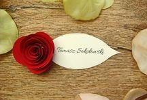 papierowe kwiaty / kwiaty z papieru
