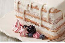 ostružinové dorty