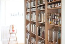Walk through pantry organization