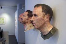 ART~Paper Art and Sculpture / by Ginny Christensen