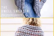 chunky sweaters free patterns