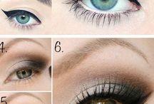 Eye makeup and tips