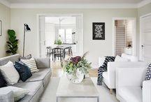 Salón / Decoración de salas de estar de diferentes estilos.