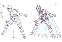 Studio e caratterizzazione del personaggio nel fumetto - BATMAN