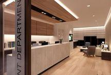 Doctor reception area