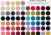 Deep Autumn girls / Deep Autumn girls: looks, style, makeup