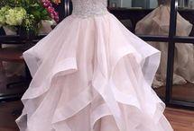 Бальные длинные платья