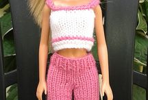 BARBIE DOLL Knitting Clothing