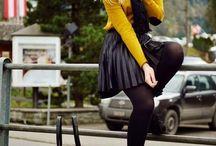 Outfits Mostarda & Yellow