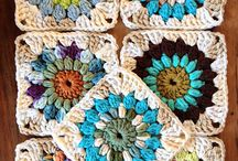 Crochet - Afghan blocks