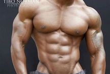 Physique black muscle