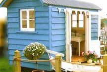 Gartenhaus - Gartenhütten / Geräteschuppen und Gartenhütten, eine inspirierende Ideensammlung
