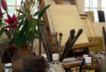 Art studio / by Janice Jones