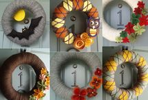 Wreath Ideas / by Kathy Potter Johnson